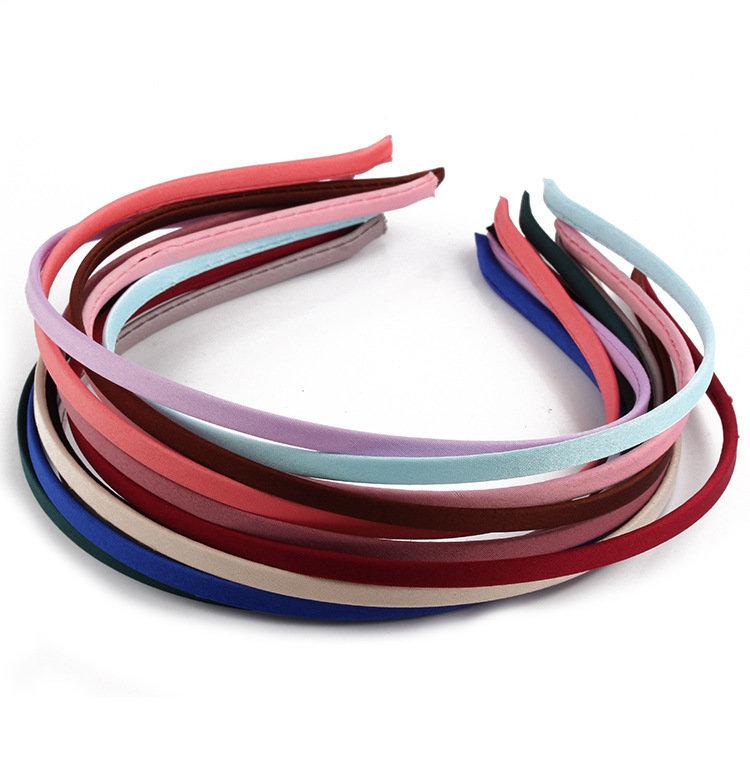Plain colour extra-thin headband 01332