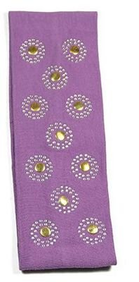 Stud stretch hair band
