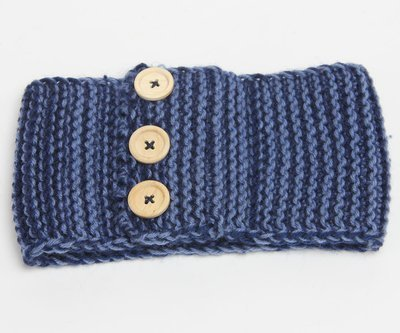 Buckle crochet headband