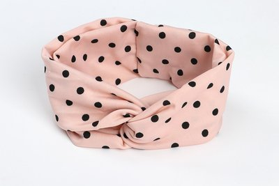 Polka dots stretchy headband