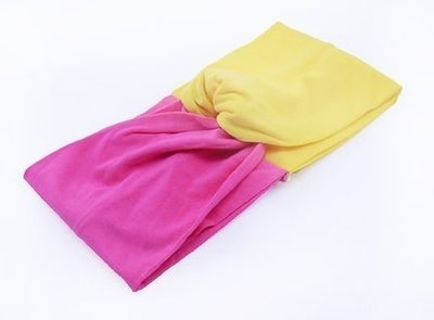 Cotton twist-colour turban headband
