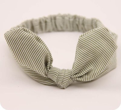 Little strips bowknot headband