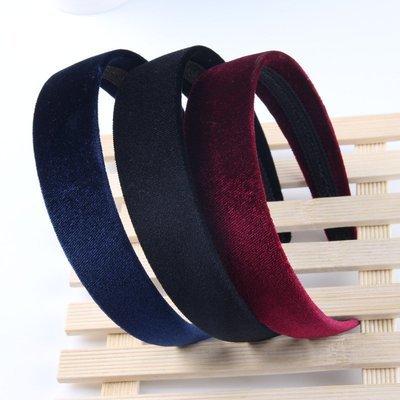 3cm Velvet headband
