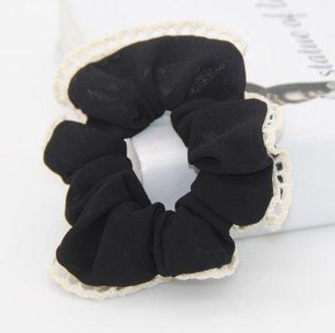 Lace chiffon scrunchies