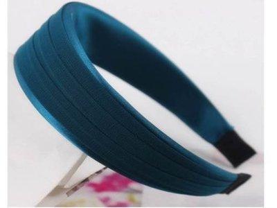 Chiffon & satin ribbon headband