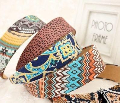 Bohemian wide headband