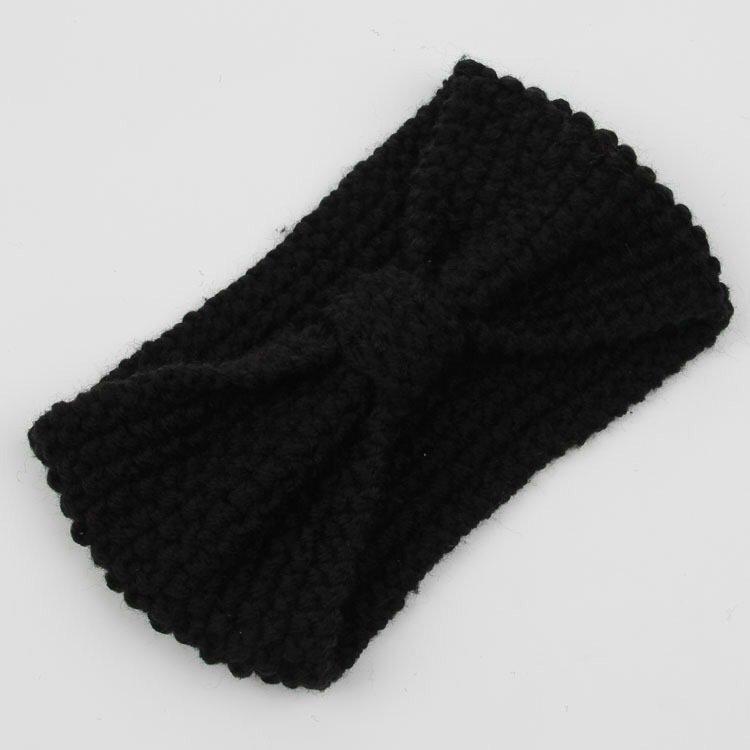 Two way knot crochet headband
