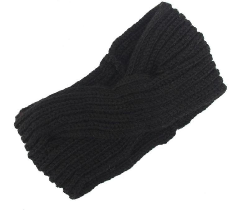 Turban crochet headband