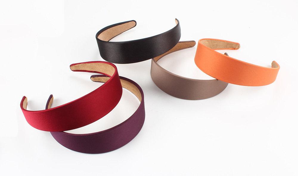 4cm satin headband 01532