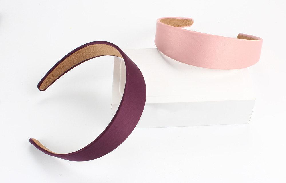 4cm satin headband