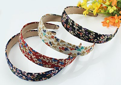 Cotton Floral headband