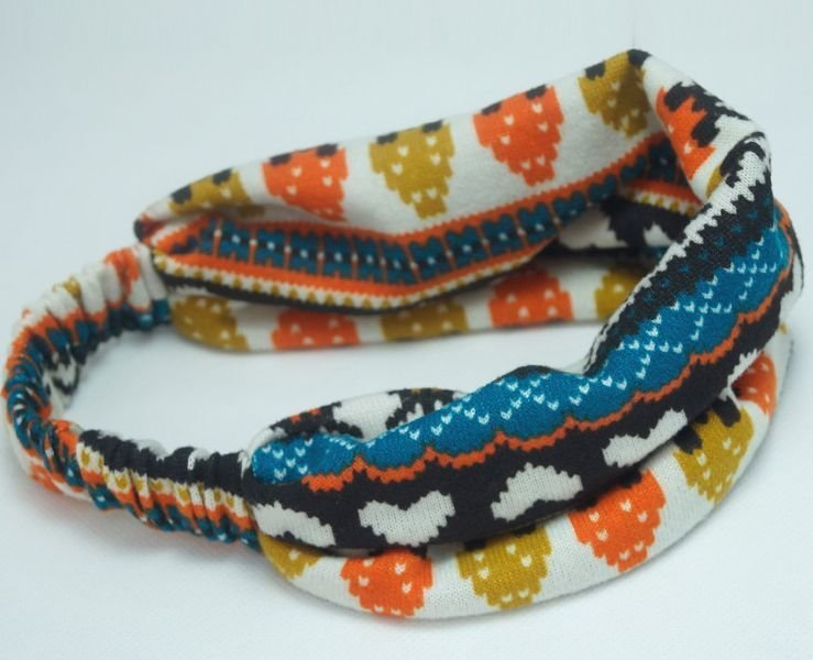 Extra-wide warm bandanna headband
