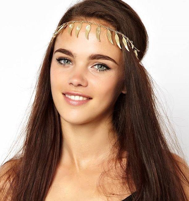 Angel wings dangling front-head headband