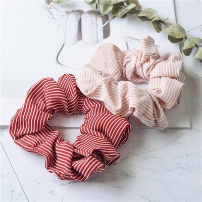 Slim strips scrunchies