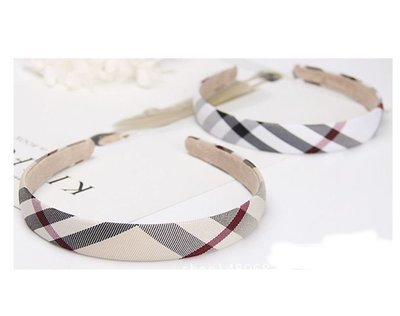 Scotch plaids headband