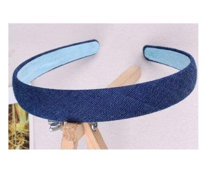 Jeans blue headband