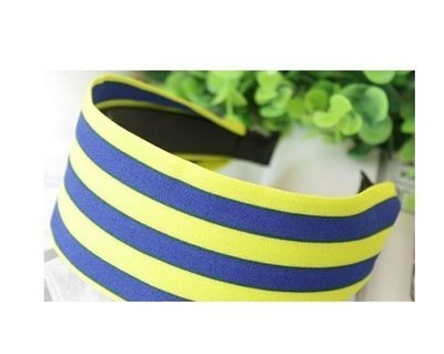 Strips wide headband