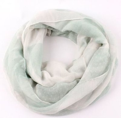Soft printing infinity scarf