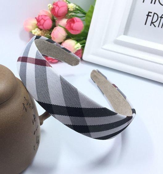 Scotch plaids wide headband