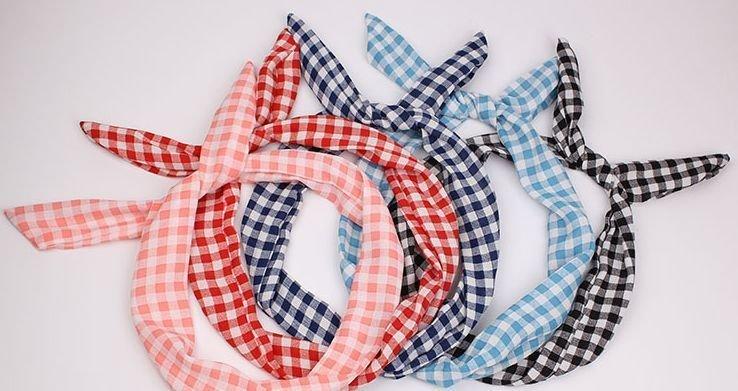 Twist hair scarves