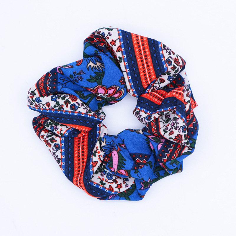 Ethnic style scrunchies
