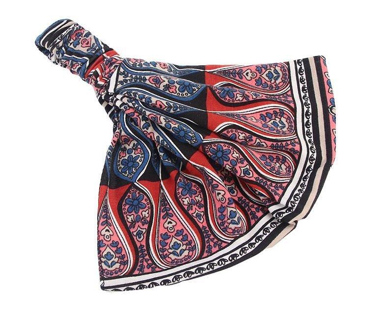 Ethnic style bandanna headband
