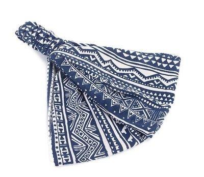 Bohemian style totem printed bandanna headband