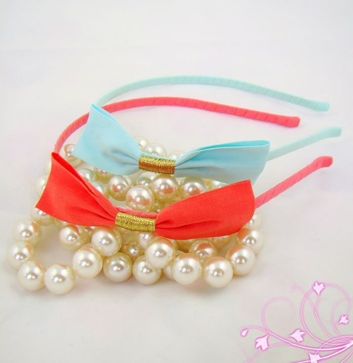 Sweet bow tie headband 00011
