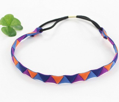 Colour magic elastic headband