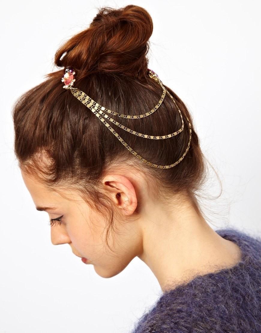 Rainbow gems double hair comb