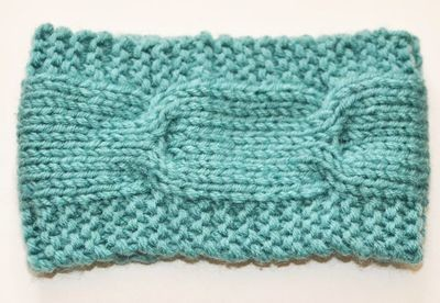 Loop crochet headband