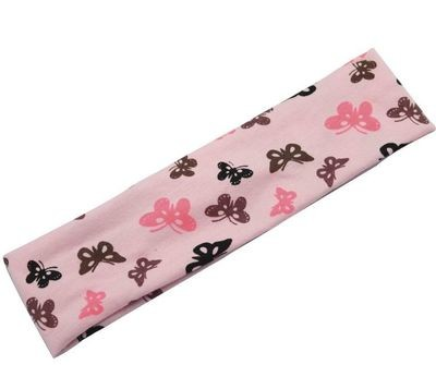 Butterfly stretch headband
