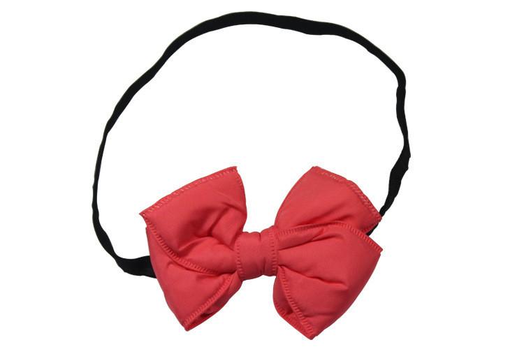 Sponge butterfly bow elastic headband