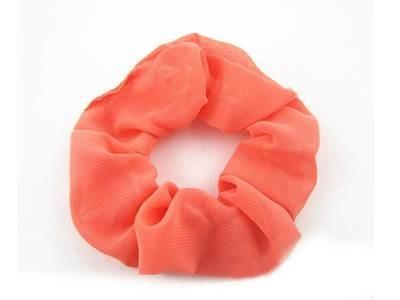Pretty chiffon scrunchies