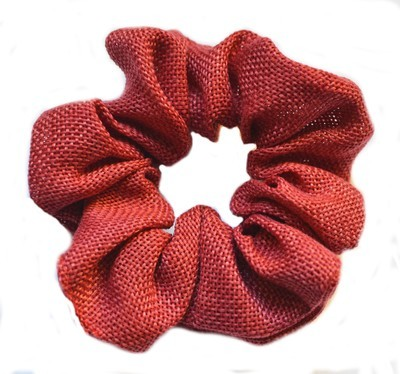 Woven scrunchies