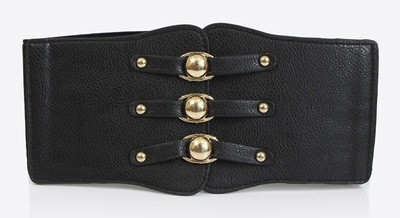 PU extra-wide stretch belt