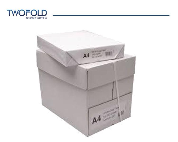 A4 Copier paper 80 gsm (5 reams per box)