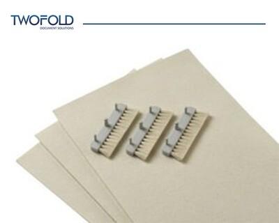 Folder Inserter moistening felt and moistening brushes