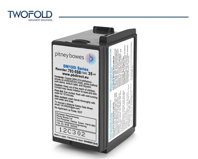 Pitney Bowes DM100 to DM220 Blue Ink