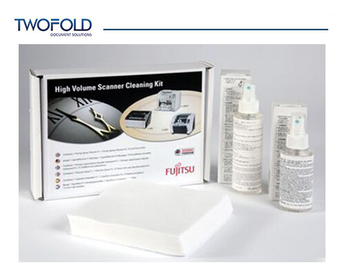 Fujitsu high volume scanner cleaning kits