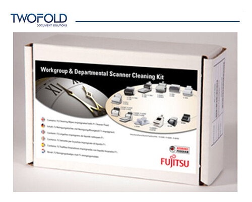 Fujitsu workgroup / departmental scanner cleaning kit