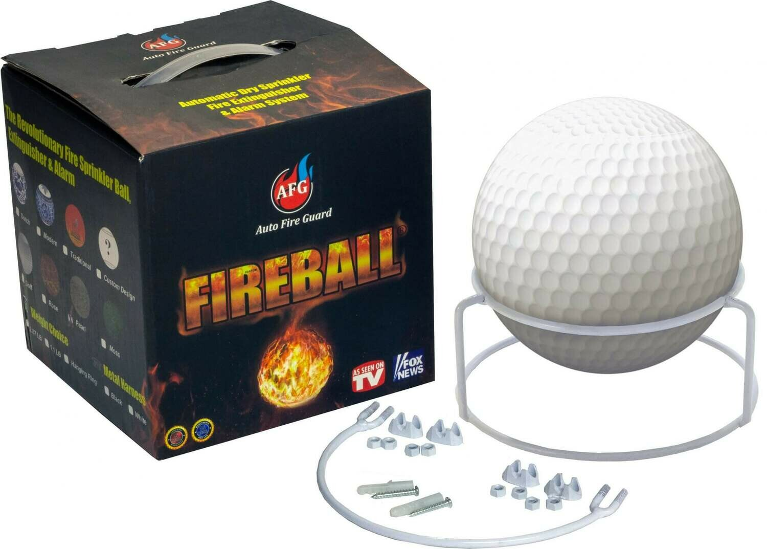 The Golf Ball Fireball