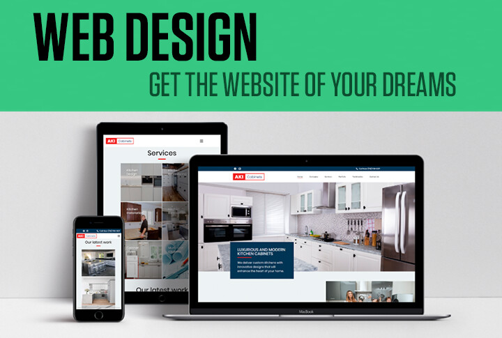 We will build a modern WordPress website with unique web design