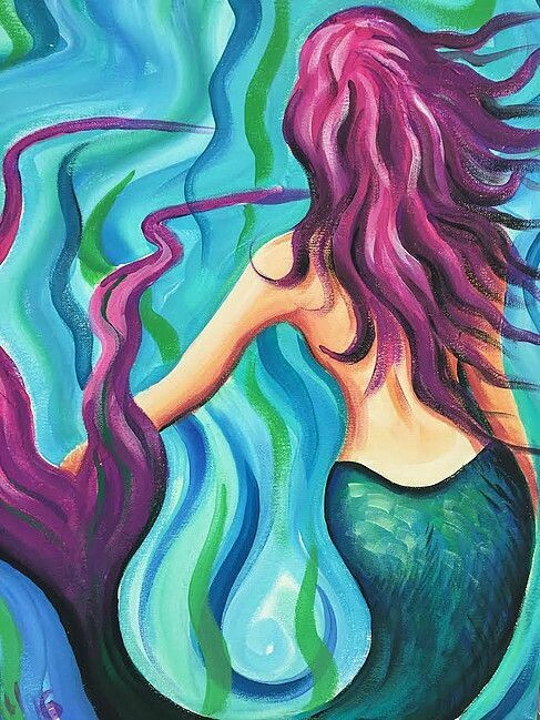 Live paint pARTy! - Mermaid - Wednesday 20 May - 3.30pm