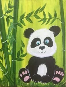 Live paint pARTy! - Panda - Monday 15 June - 1.30pm