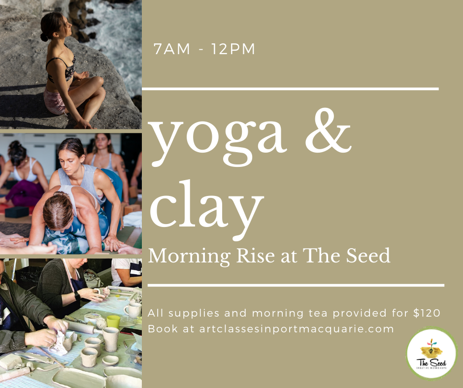 Yoga and Clay Morning - 7am - 12pm DATES TBA (dates TBA)