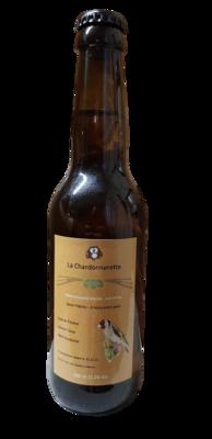 Bière Blonde artisanale La Chardonnerette en 33 cl