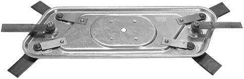 """KNIVTALLERKEN   19""""/48 cm."""