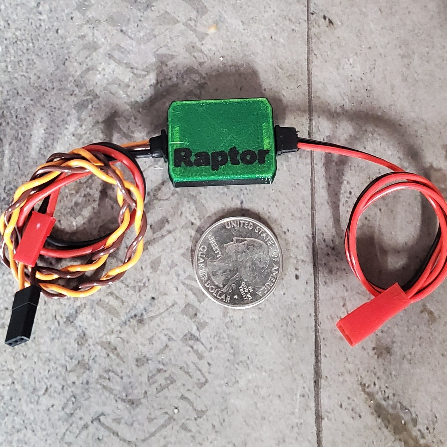 The Raptor Plug and Pull winch controller