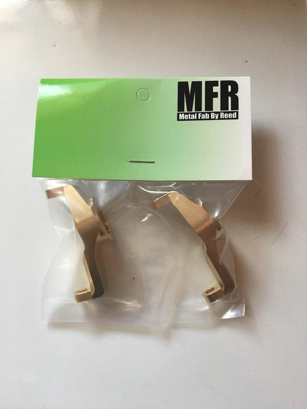 Trx-4 C-hubs (Left and Right Caster Blocks) by MFR MFR-002